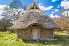 Viking House royalty-vrije stock foto's