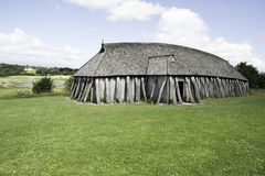 Viking House Royaltyfria Foton