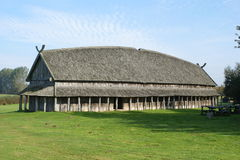 Viking House Stock Foto's