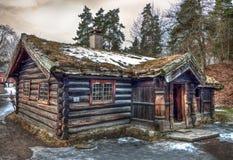 Viking House, Oslo Folk Museum, Norway royalty free stock photography