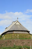 Viking House in vertical Royalty Free Stock Image