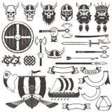 Viking items Royalty Free Stock Image