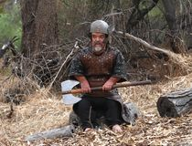 Viking karzeł obraz royalty free
