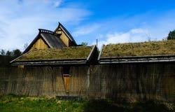 Viking korridor arkivfoton