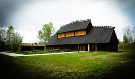 Viking korridor royaltyfri fotografi