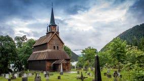 Viking kyrka Arkivbild