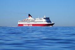 Viking Line Stock Afbeelding