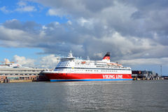 Viking Line Fotografía de archivo libre de regalías