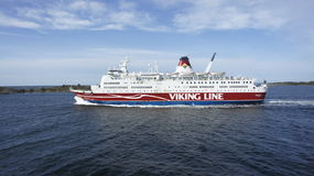 Viking Line Royaltyfria Bilder