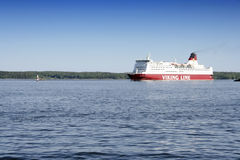 Viking Line Crusie Ship Royalty Free Stock Images
