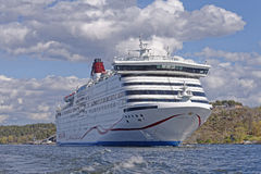 Viking line ferry Stock Photography