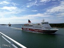 Viking Line Grace royalty free stock photos