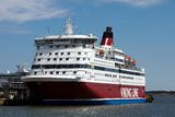 Viking line Royalty Free Stock Image