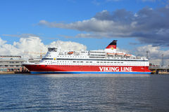 Viking Line Stock Image