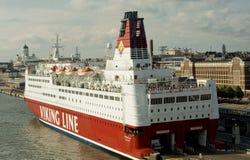 Viking Linia prom fotografia stock