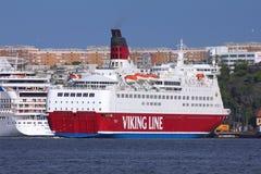 Viking linje Royaltyfri Fotografi