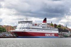 Viking linje färja Fotografering för Bildbyråer