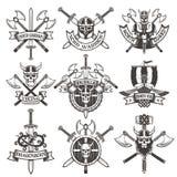 Viking logos Royalty Free Stock Photos