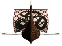 Viking Longship Approaches Royalty Free Stock Image
