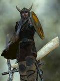 Viking mężczyzna Zdjęcia Stock