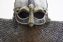 Viking hełm Obrazy Royalty Free