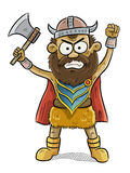 Viking Man Royalty Free Stock Photo