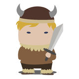 Viking mascot Stock Photo