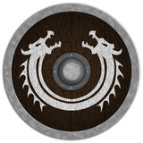 Viking Medieval Shiled Fotos de Stock Royalty Free