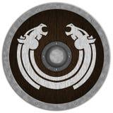 Viking Medieval Shiled Fotografia de Stock
