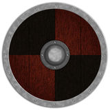 Viking Medieval Shiled Stock Photo