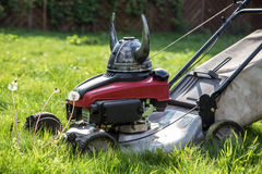 Viking mower Stock Photo