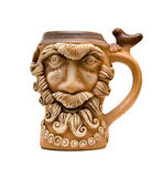 Viking mug Royalty Free Stock Photo