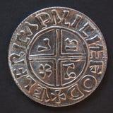 Viking mynt Royaltyfri Fotografi