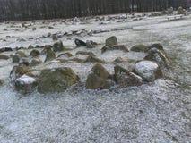 Viking-oriëntatiepunten Royalty-vrije Stock Afbeeldingen