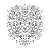 Viking ornament in a graphic style. Vector illustration design w stock photography