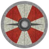 Viking Średniowieczny Shiled Fotografia Royalty Free