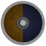 Viking Średniowieczny Shiled Obrazy Royalty Free