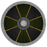 Viking Średniowieczny Shiled Zdjęcie Stock