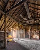 Viking-regeling bij de Weiden van L ` Anse aux royalty-vrije stock afbeelding