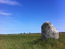 Runestone, vikings, archaeology, sweden, scandinavia, history Stock Photography