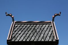 Viking roof Stock Images