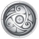 A viking's shield Royalty Free Stock Image