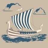 Viking-schip Royalty-vrije Stock Foto
