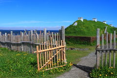 Viking settlement Stock Images