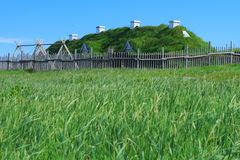 Viking settlement Royalty Free Stock Photography