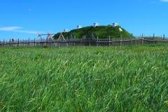 Viking settlement Stock Photos