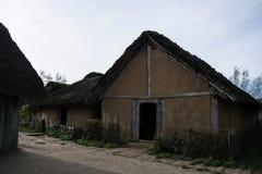 Viking Settlement Haithabu, Germany royalty free stock photos