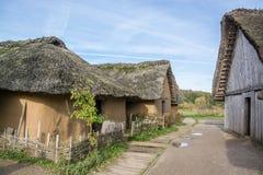 Viking Settlement Haithabu, Germany royalty free stock photo