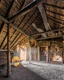 Viking settlement at L`Anse aux Meadows royalty free stock image