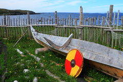 Viking settlement Royalty Free Stock Images
